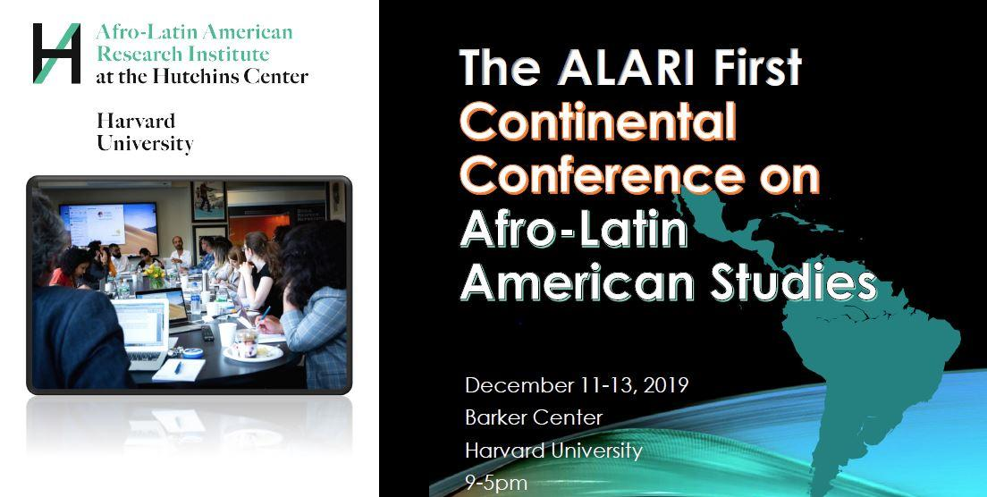 The ALARI First Continental Conference on Afro-Latin American Studies